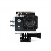 Quazar Blackbox ultra HD minőségű sportkamera, 4K felbontással, WIFI kapcsolattal, fekete