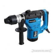 Silverline Silverstorm 1500W SDS Plus Drill - 1500W 268819 5024763125416