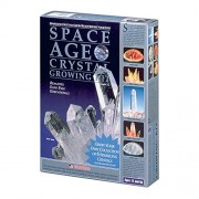 Space Age Crystal Growing Kit: 6 Crystals (Quartz and Amber)