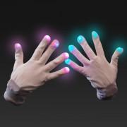 LED Gloves - guanti luminosi con luci a led - 6 effetti diversi!