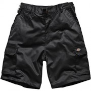 Dickies 83432B Redhawk Cargo Shorts 32-inch Waist - Black