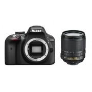 Nikon d3300 + 18-105mm vr - man. ita - 2 anni di garanzia