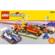 Lego SHELL Promotional Set: PIT STOP Set #2554 by LEGO