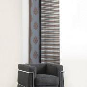 "Vorhang ""Belfort"", 1 Vorhang, 132 x 245 cm - Braun/Türkis"