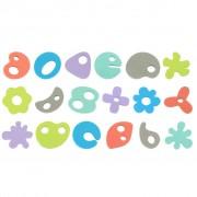 Bo Jungle 36 Piece B-Bath Time Foam Toys B900400