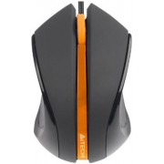 Mouse A4Tech Optic N-310 (Negru-portocaliu)