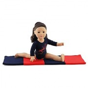 18 Inch Doll Clothes/Clothing Leotard with Gymnastics Tumbling Mat l Fits 18 American Girl Dolls