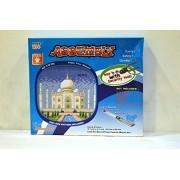 Sinotrade Puzzle Box - Taj Mahal, Multi Color