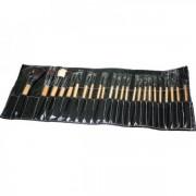Pensule Make-up par Natural - set 24 bucati
