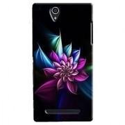 SaleDart Designer Mobile Back Cover for Sony Xperia C3 SXC3KAA70
