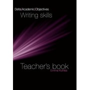 Delta Academic Objectives: Writing Skills: Teacher Book by Emma Khules