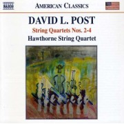 D. L. Post - String Quartets No.2-4 (0636943966129) (1 CD)