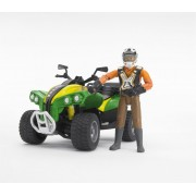 Bruder bworld quad sofőrrel (63000)
