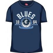 AFL Mens SHD Tee Carlton Blues