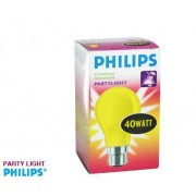 Philips Outdoor Party Light Yellow 40W Bayonet