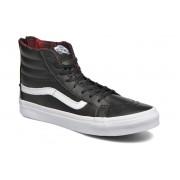 Vans - SK8-Hi Slim Zip by Vans - Sneaker für Damen / schwarz
