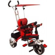 Tricicleta Multifunctionala Happy Days Rosu