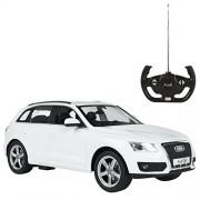 Rastar - Audi Q5, coche teledirigida, escala 1:14, color blanco (ColorBaby 41108)