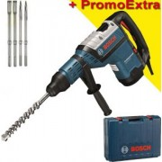 Bosch Professional GBH 8-45 D Ciocan rotopercutor SDS-max 1500 W, 12,5 J + 4 accesorii SDS MAX 220V