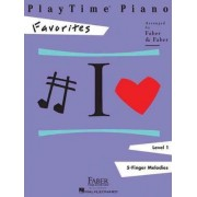 Playtime Piano Favorites by Nancy Faber