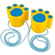 Hape - Sand and Sun - Cat Walk Stilts Beach Toy Yellow