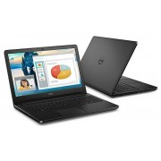 "Dell Vostro 3558 5th gen Notebook Intel Dual i3-5005U 2.00Ghz 4GB 500GB 15.6"" WXGA HD HD5500 BT Win 10 Home"