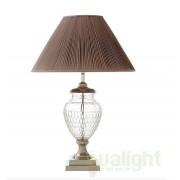 Veioza, lampa de masa LUX fabricata manual, H-78cm, Chalon 107154 HZ