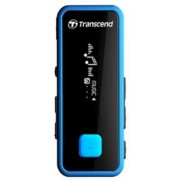 MP3 Player Transcend MP350, 8GB (Negru/Albastru)
