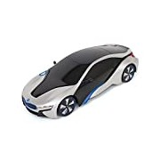 New York 1:18 Scale BMW I8 Remote Controlled Car (Silver)