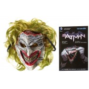Batman : Death of the Family Mask and Book(Scott Snyder)