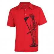 TattooGolf Mr Bones Performance Polo Shirts【ゴルフ ゴルフウェア>ポロ/長袖シャツ】