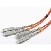 Patch Fibra Optica Patch Cord, Intellinet duplex multimode, 1m, conectori SC-SC, Bulk