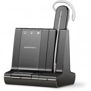 Casca Bluetooth Plantronics Headset SAVI W740 3 in 1 Convertible - Black