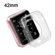 Funda Protector TPU Apple Watch 42 mm serie 2 Transparente