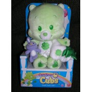 Care Bear Cubs 12 Plush Good Luck Cub Bear with Blanket and Purple Bunny by Play Along