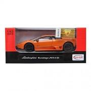 Rastar 1:43 Lamborghini Murcielago Lp 670 4 Sv Car Orange Diecast Model New Gift