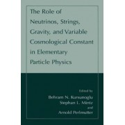 The Role of Neutrinos, Strings, Gravity and Variable Cosmological Constant in Elementary Particle Physics by Behram N. Kursunoglu