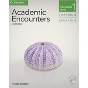 Academic Encounters Level 1 Student's Book Listening and Speaking with DVD by Yoneko Kanaoka
