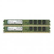 Kingston KVR16N11S8K2/8 Memoria RAM da 8 GB, 1600 MHz, DDR3, Non-ECC CL11 DIMM Kit (2x4 GB), 240-pin, 1.5 V, colori assortiti