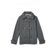 ランズエンド LANDS' END ガールズ・フリース・ピーコート【キッズ・子供服・女の子】(ピューターヘザー)
