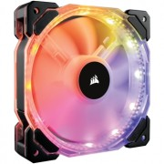 Ventilator 120 mm Corsair HD120 RGB LED High Performance PWM, controler inclus