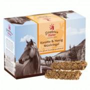 Stephans Mühle Paarden-Muselireep Wortel & Honing - Dubbelpak: 2 x 24 repen à 50 g