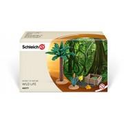 Schleich - Set de plantas y forraje (42277)