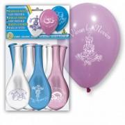 bolsa de 10 globos vivan los novios | globo