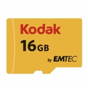 Card Kodak microSDHC 16GB Clasa 10 UHS-I U1 20MB/s cu adaptor SD