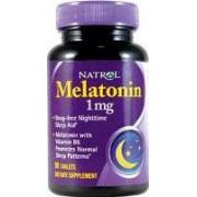 melatonin natrol 1 mg 180 tabl