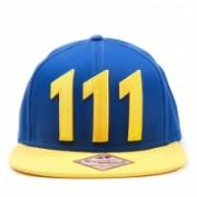 Fallout 4 Snap Back Baseball Cap Vault 111 - Giallo/Blu
