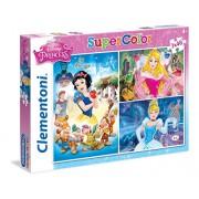 Clementoni 25211 - Puzzle Disney Princess, 3 x 48 Pezzi, Multicolore
