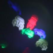 EY Coches De La Lámpara Al Aire Libre-Negro