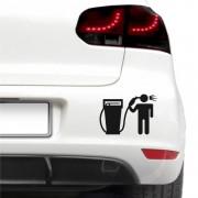 Sticker auto - Carburant scump